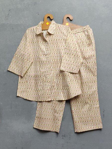 Cotton Handblock Print Night Suits WNS212