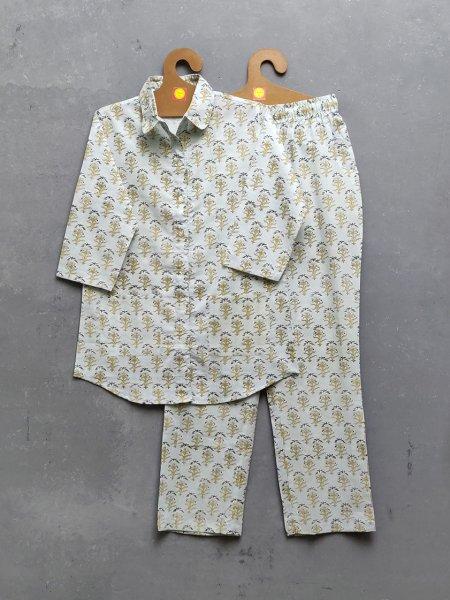 Cotton Handblock Print Night Suits WNS277