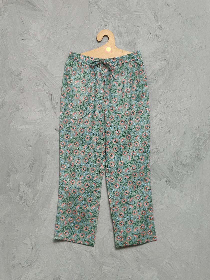 Cotton Handblock Print Night Suits WNS315
