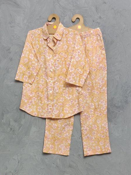 Cotton Handblock Print Night Suits WNS341