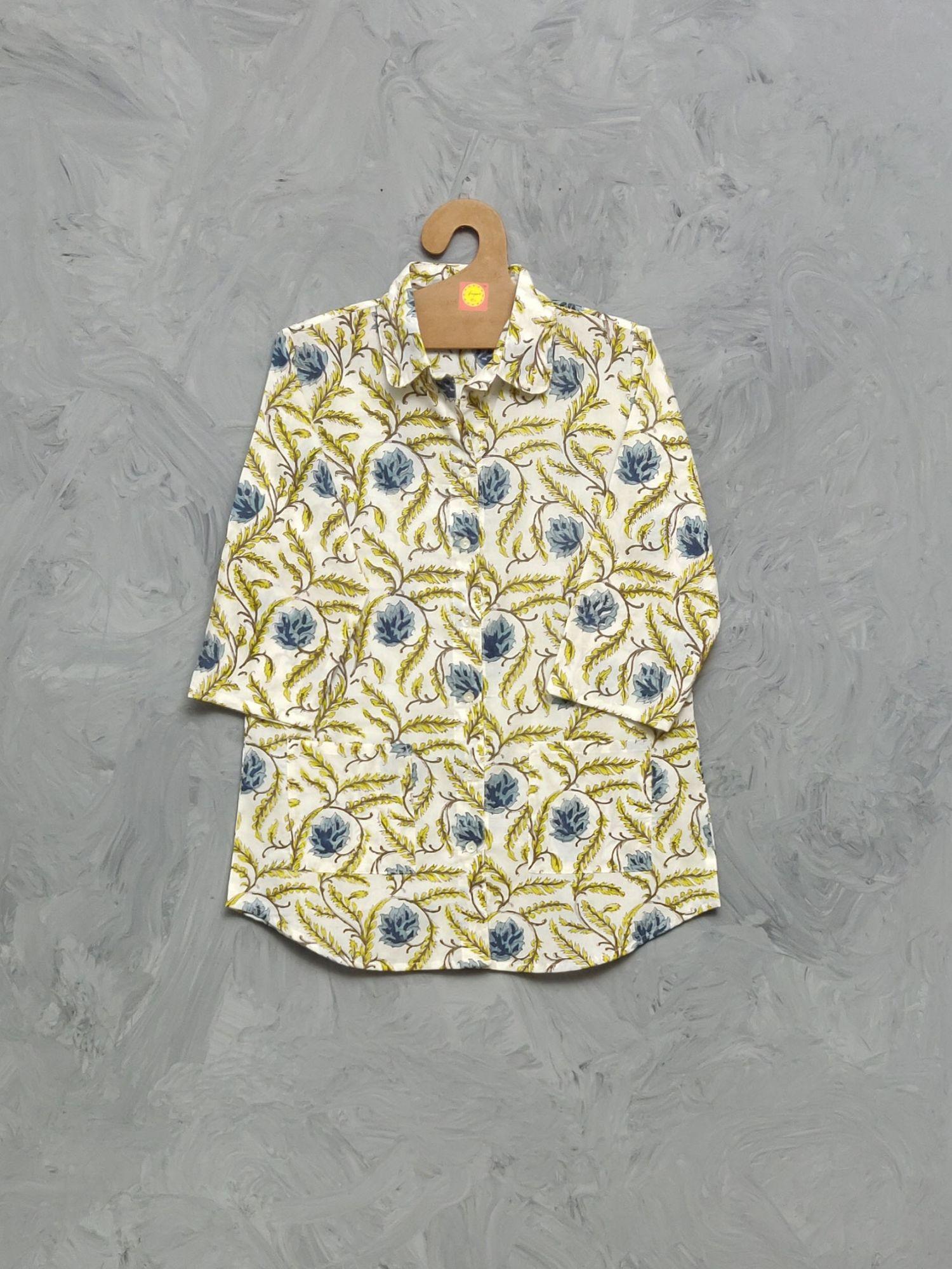 Cotton Handblock Print Night Suits WNS346