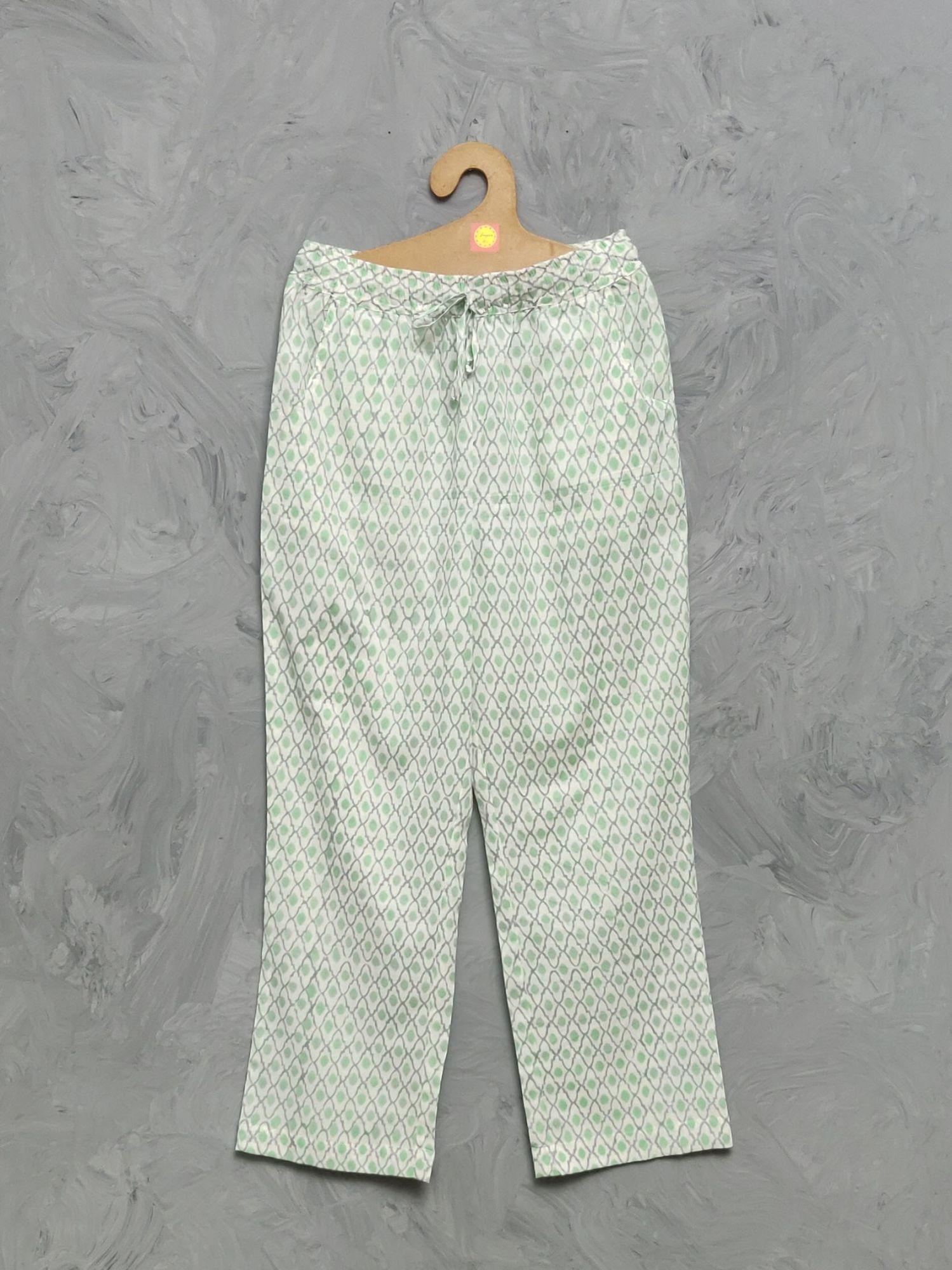 Cotton Handblock Print Night Suits WNS353
