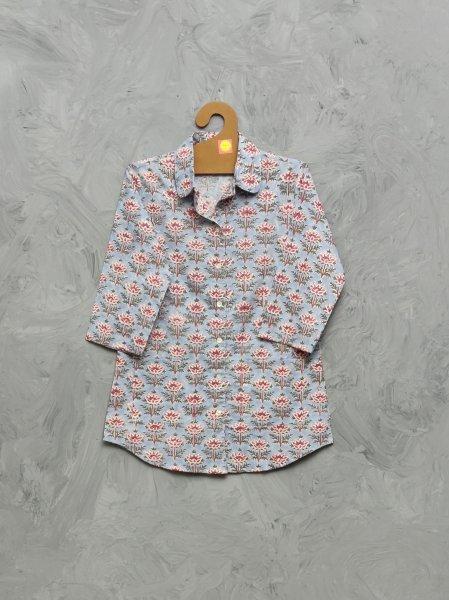 Cotton Handblock Print Night Suits WNS389