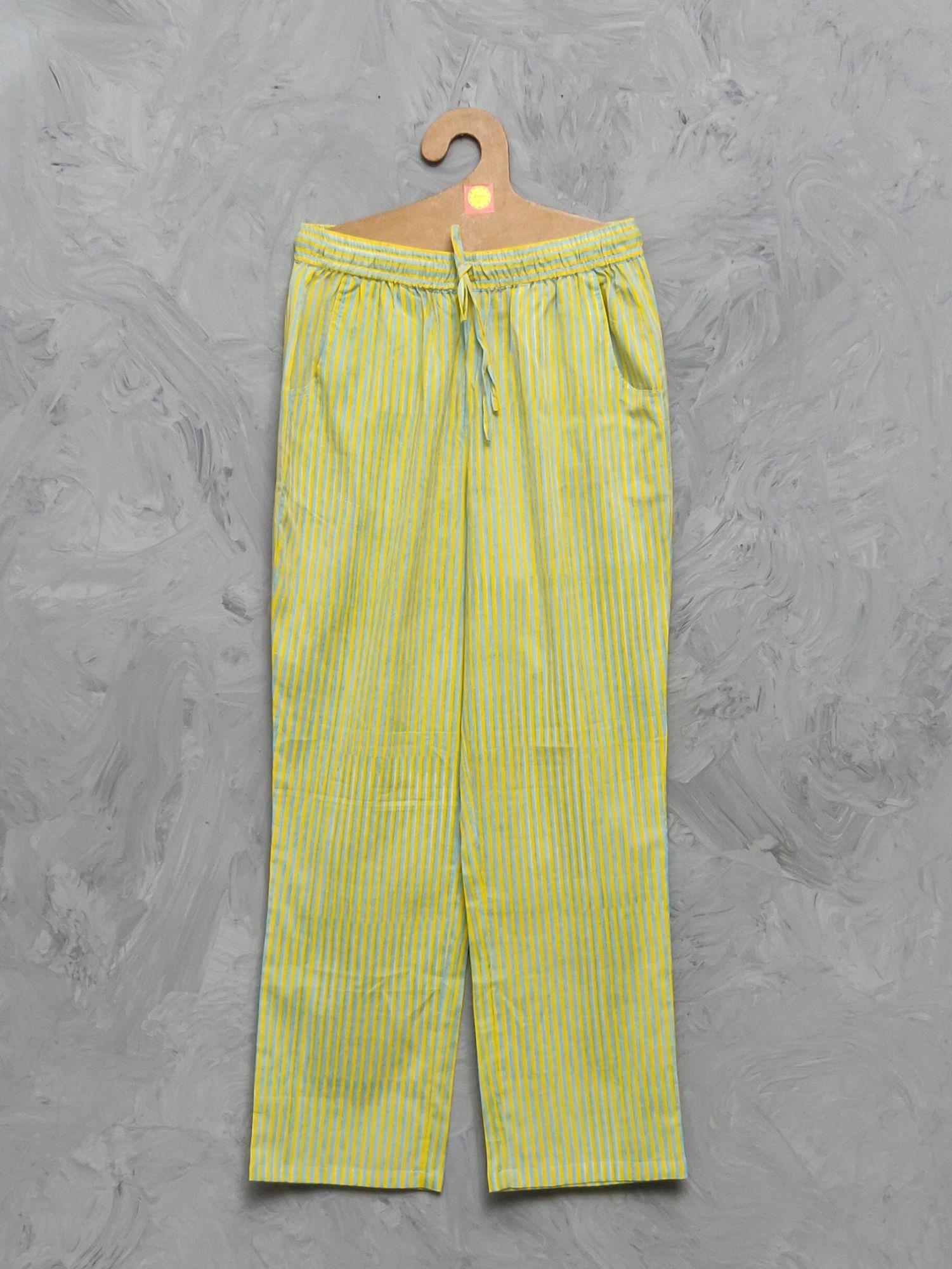 Cotton Handblock Print Night Suits WNS394