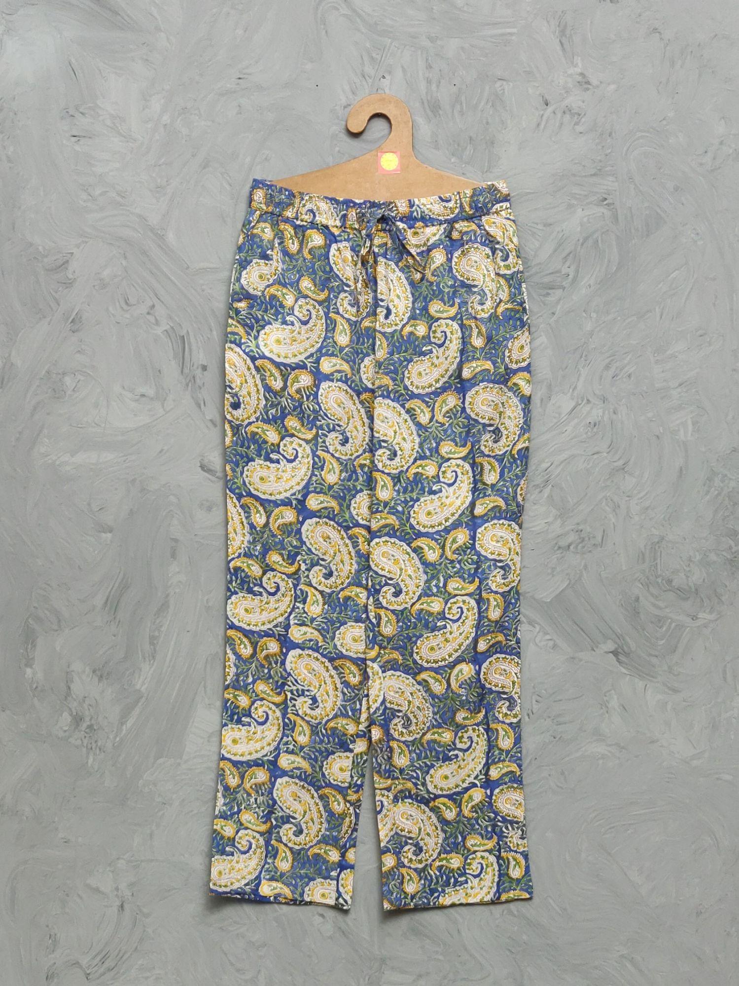 Cotton Handblock Print Night Suits WNS397