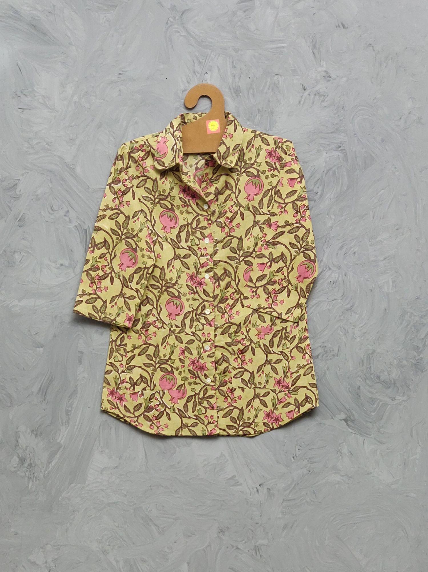 Cotton Handblock Print Night Suits WNS399