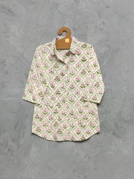 Cotton Handblock Print Night Suits WNS405