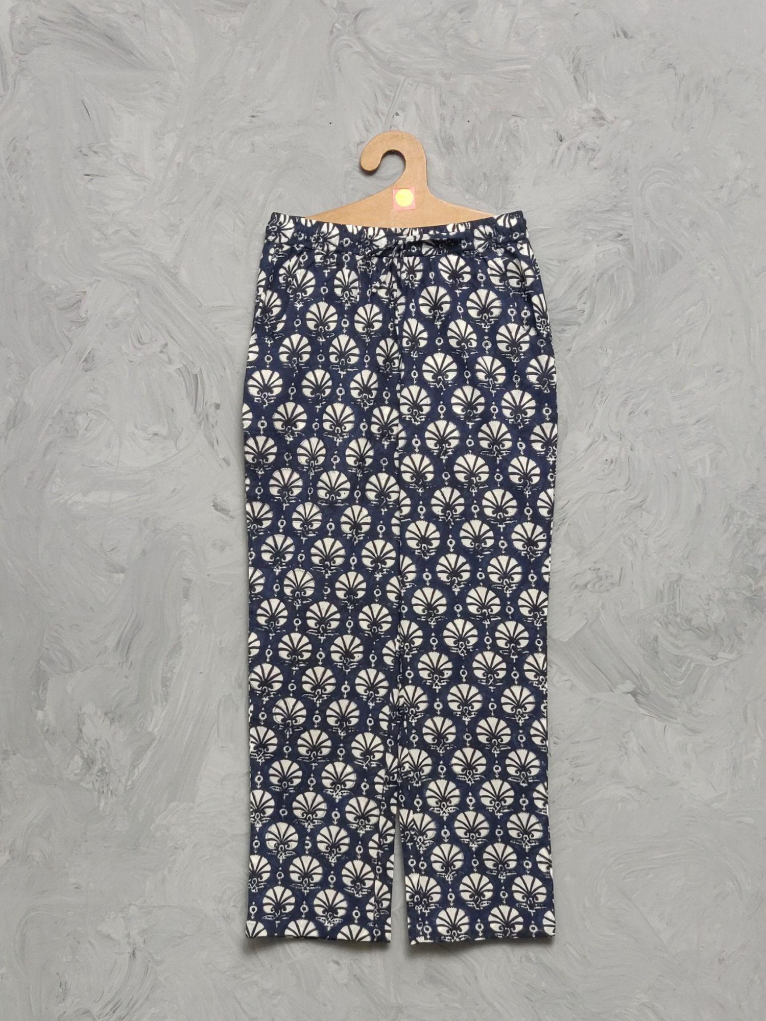 Cotton Handblock Print Night Suits WNS406