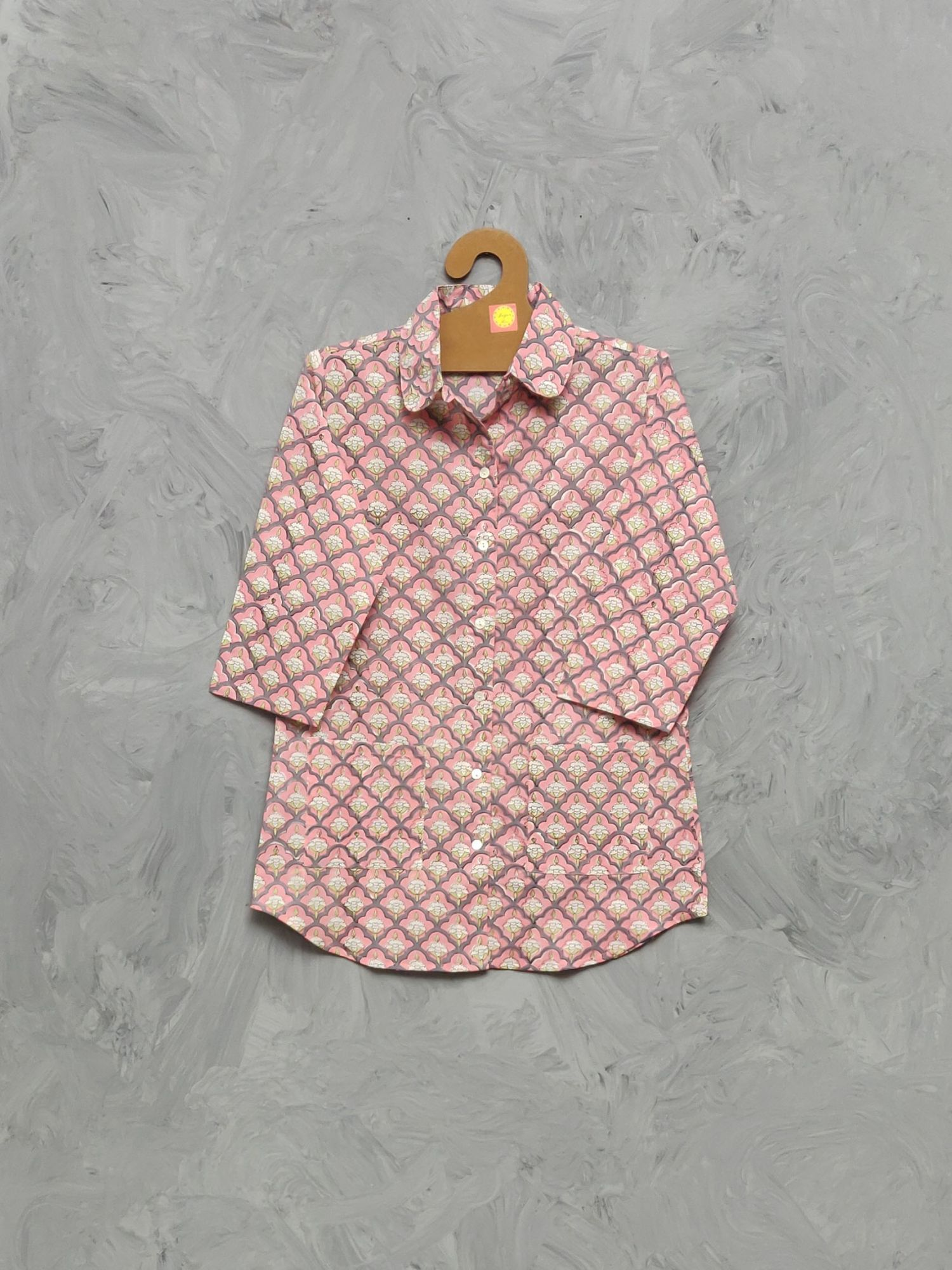 Cotton Handblock Print Night Suits WNS409