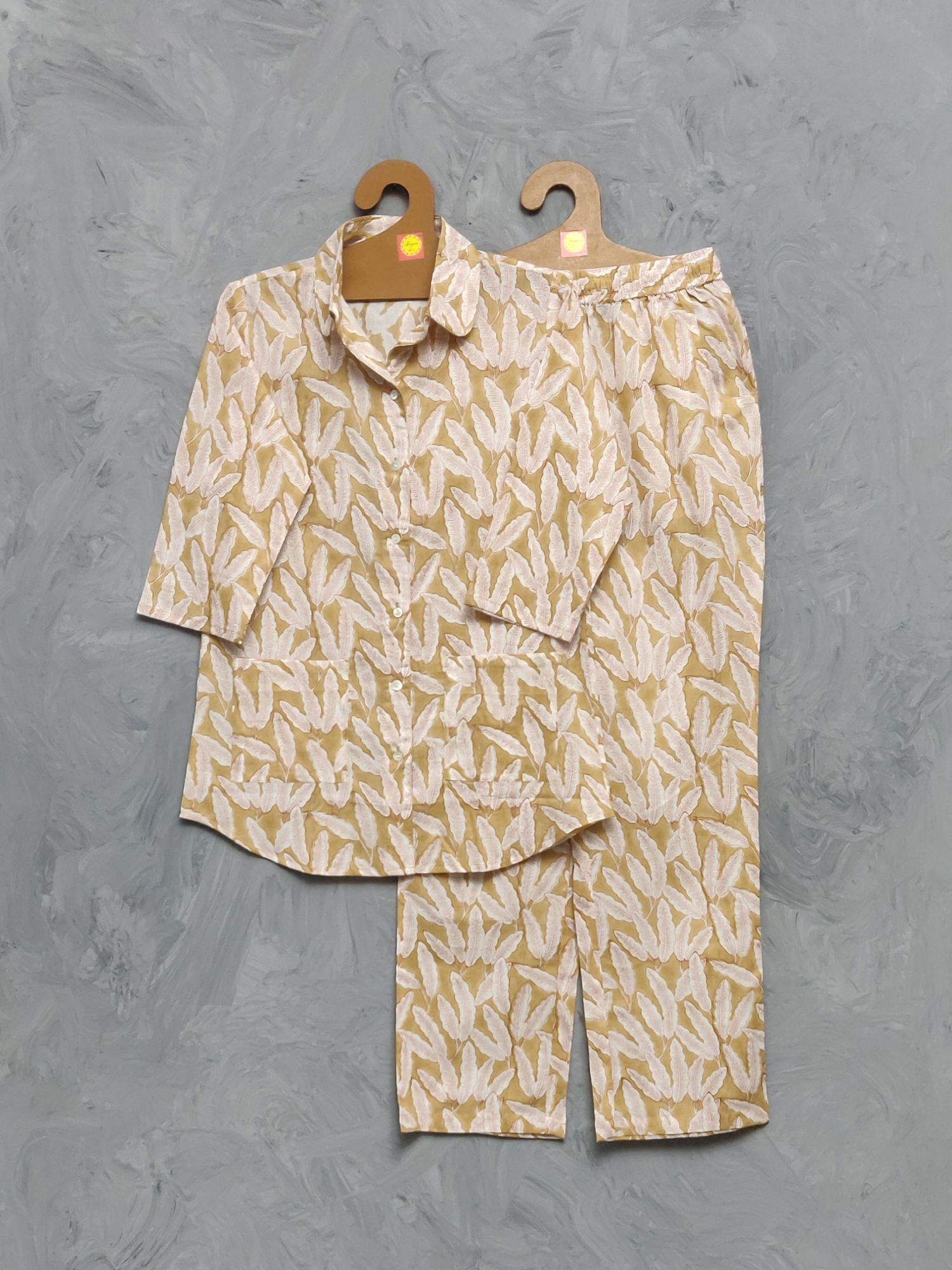 Cotton Handblock Print Night Suits WNS411