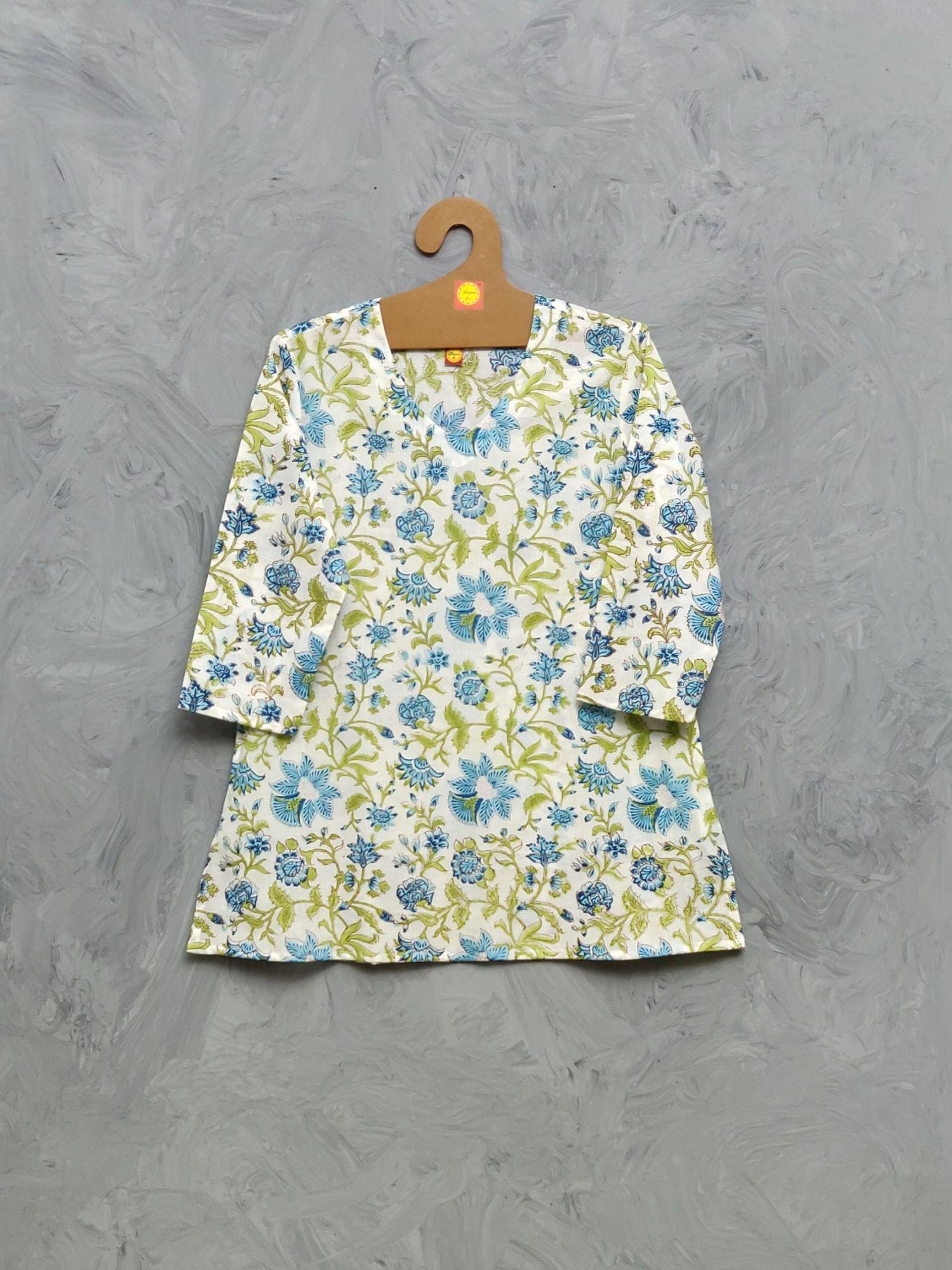 Cotton Handblock Print Night Suits WNS417