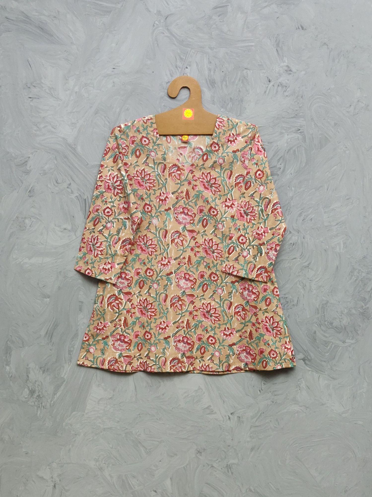 Cotton Handblock Print Night Suits WNS425