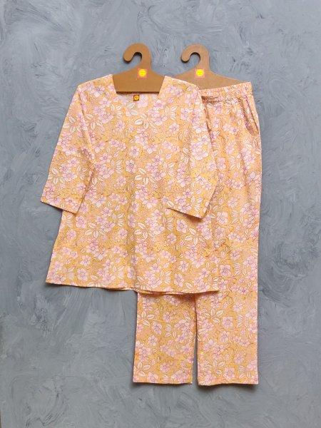 Cotton Handblock Print Night Suits WNS426