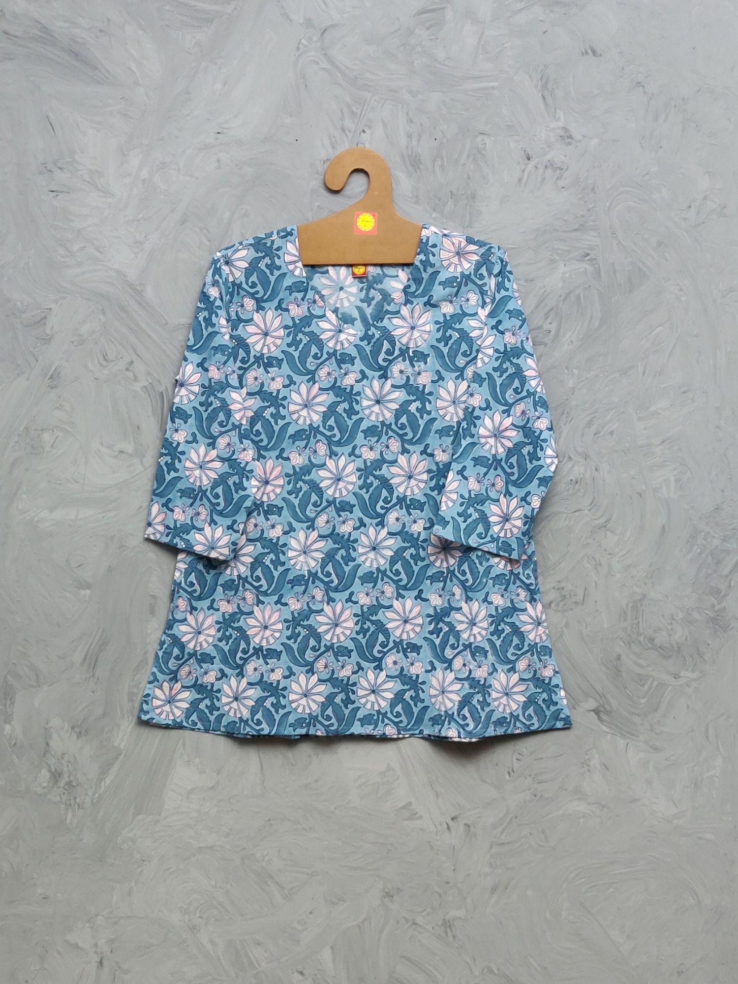 Cotton Handblock Print Night Suits WNS428