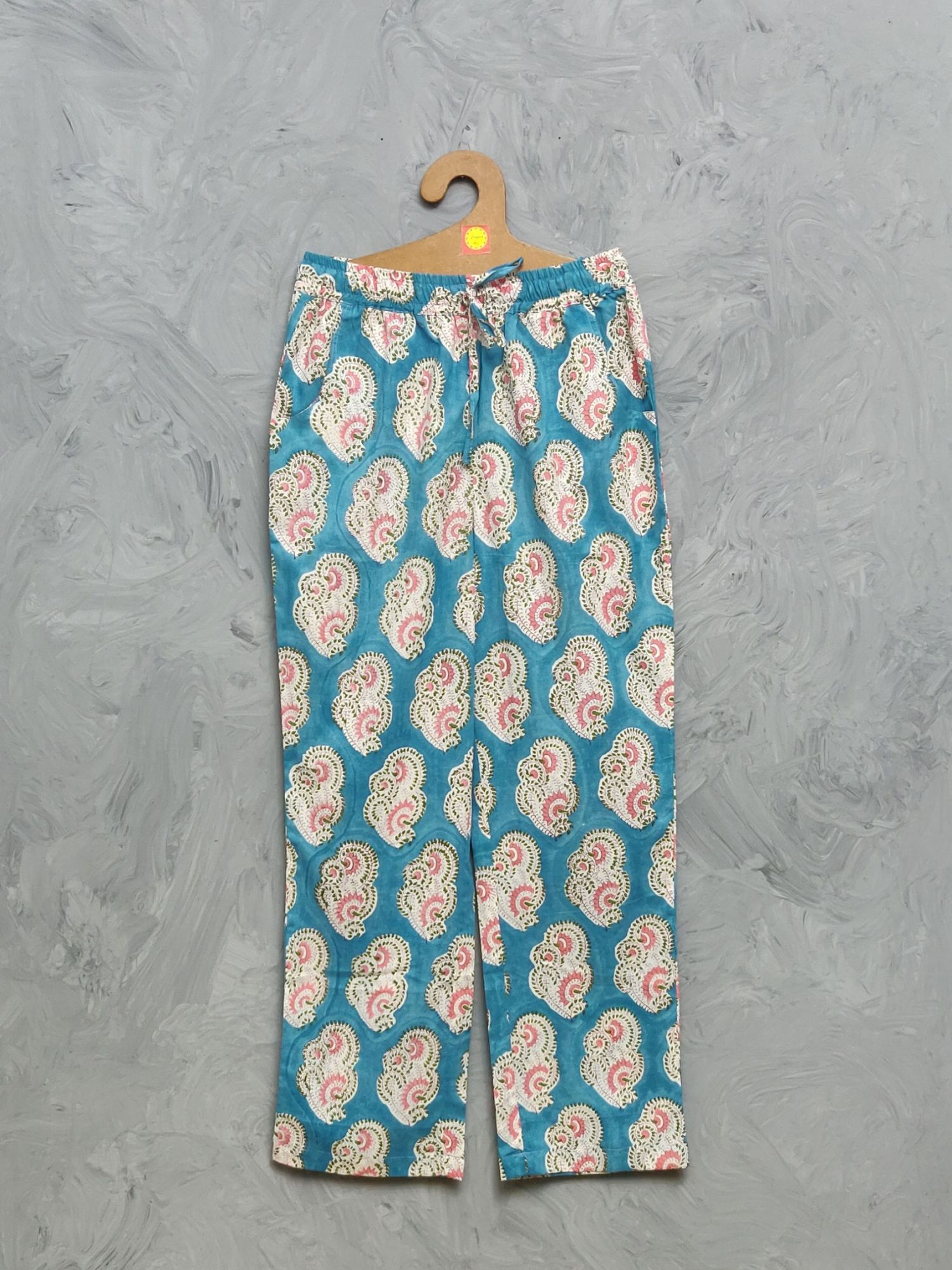 Cotton Handblock Print Night Suits WNS431