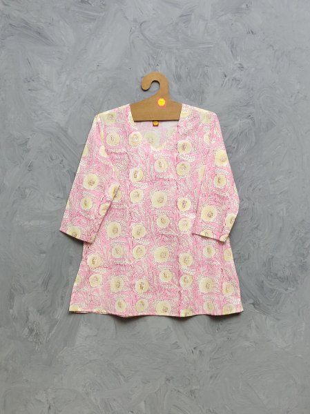 Cotton Handblock Print Night Suits WNS436