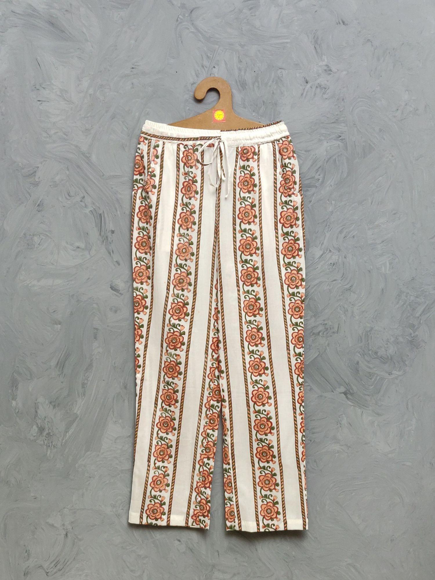 Cotton Handblock Print Night Suits WNS445