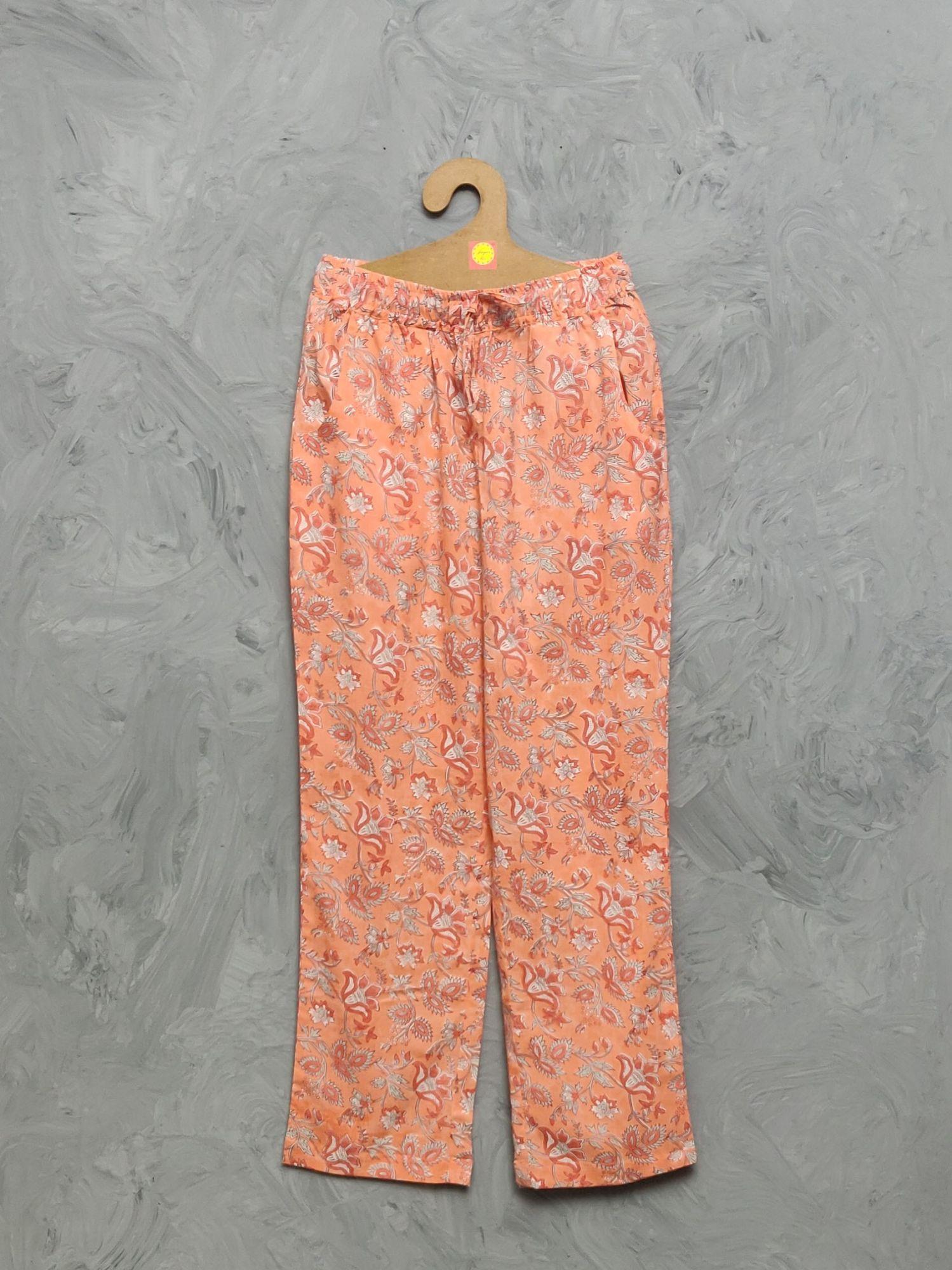 Cotton Handblock Print Night Suits WNS451
