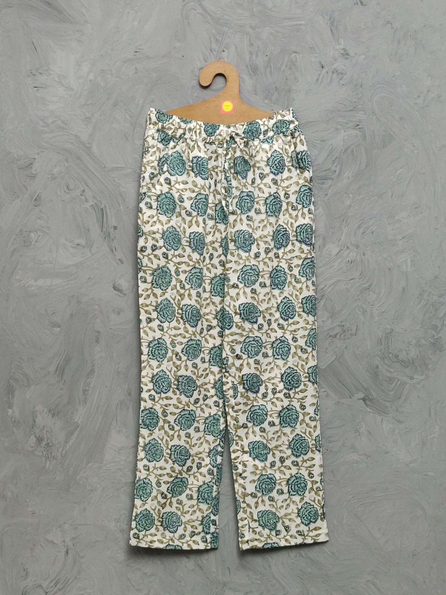 Cotton Handblock Print Night Suits WNS460