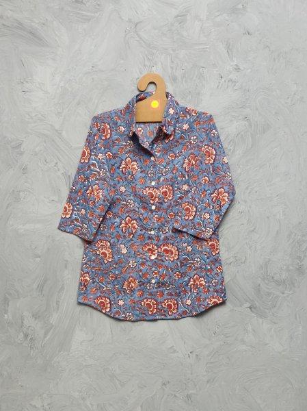 Cotton Handblock Print Night Suits WNS465