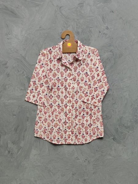 Cotton Handblock Print Night Suits WNS467