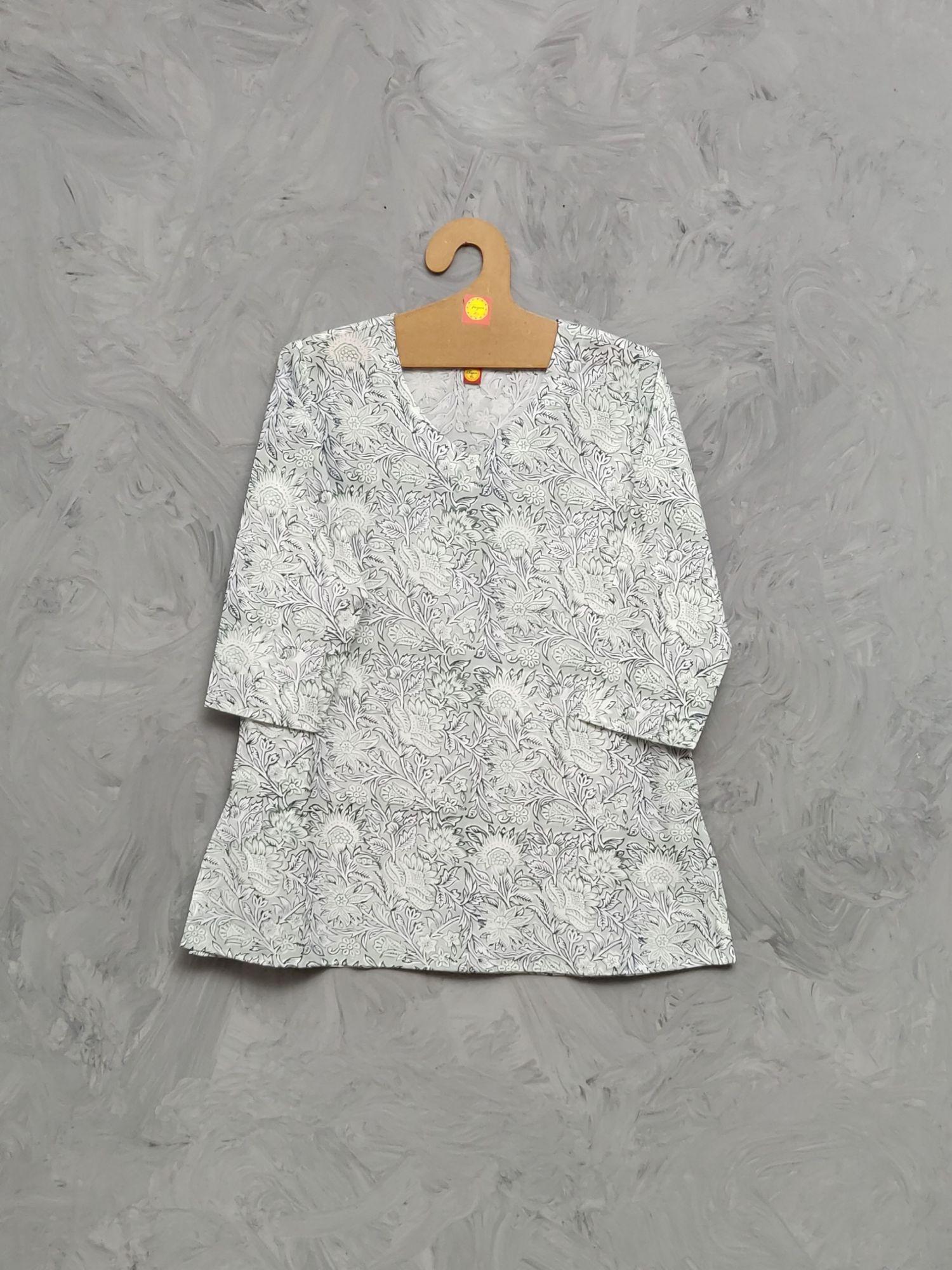 Cotton Handblock Print Night Suits WNS483