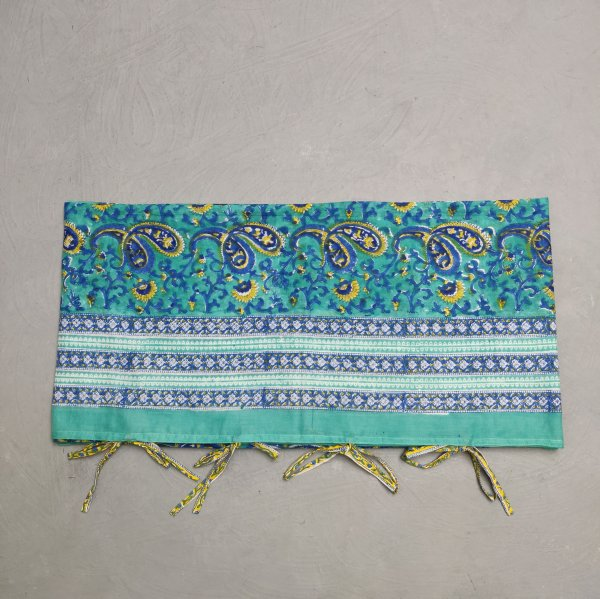 Printed Handblock Mulmul Single Size Quilt Cover QCP10