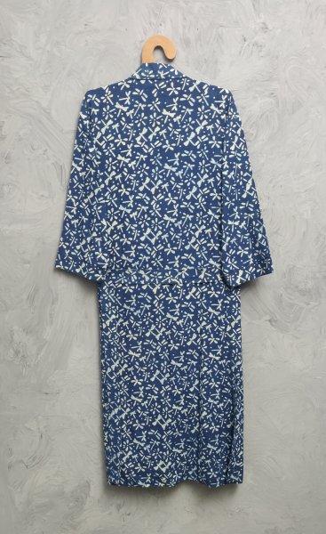 Handblock Housecoat/ Cotton Robe HCCR121