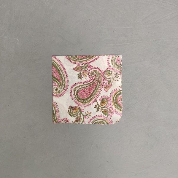 Handblock printed Handkerchief / Napkins WHH107