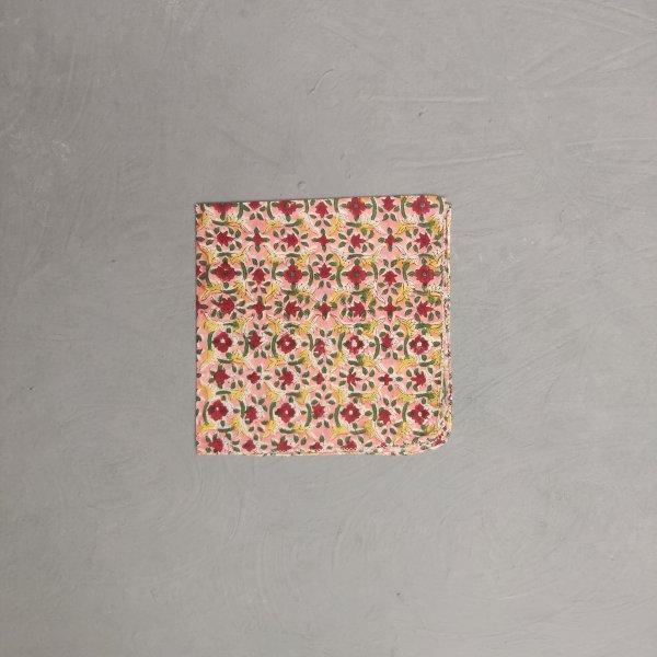 Handblock printed Handkerchief / Napkins WHH137