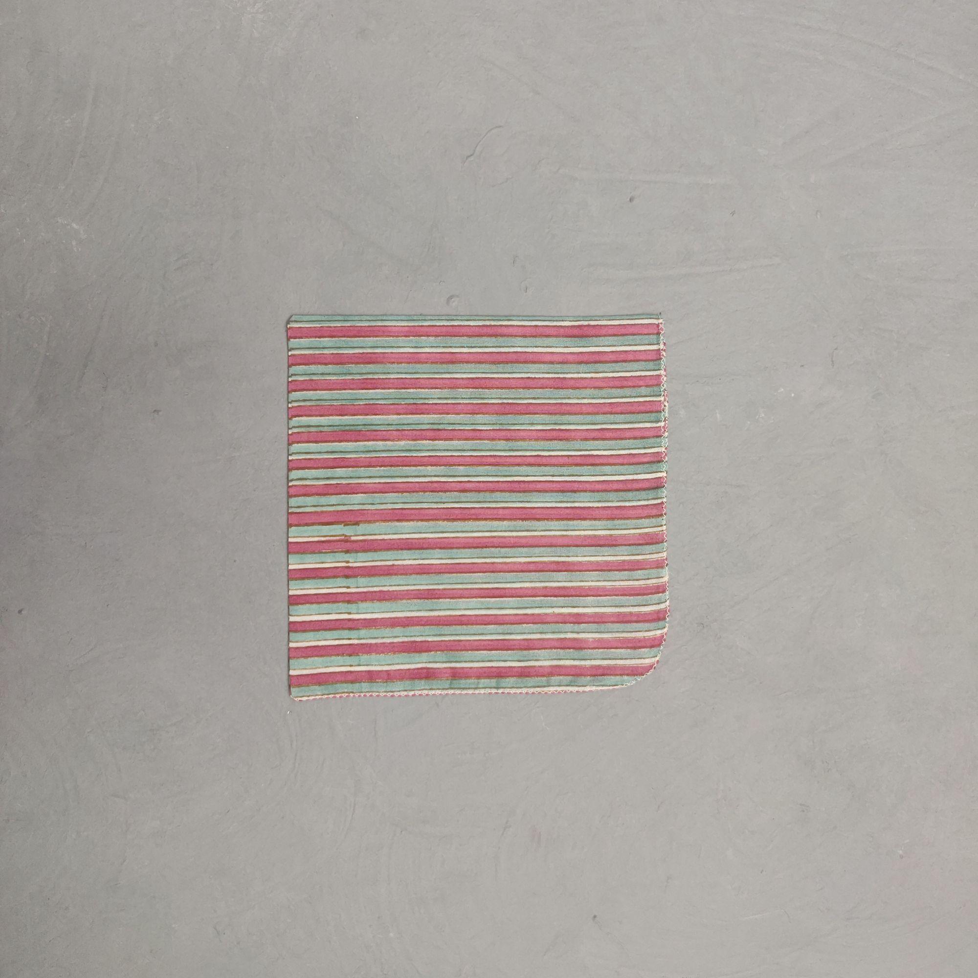 Handblock printed Handkerchief / Napkins WHH153