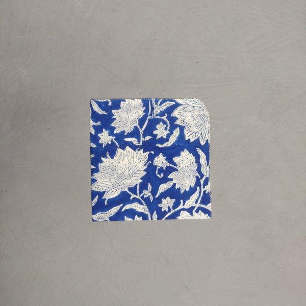 Handblock printed Handkerchief / Napkins WHH164