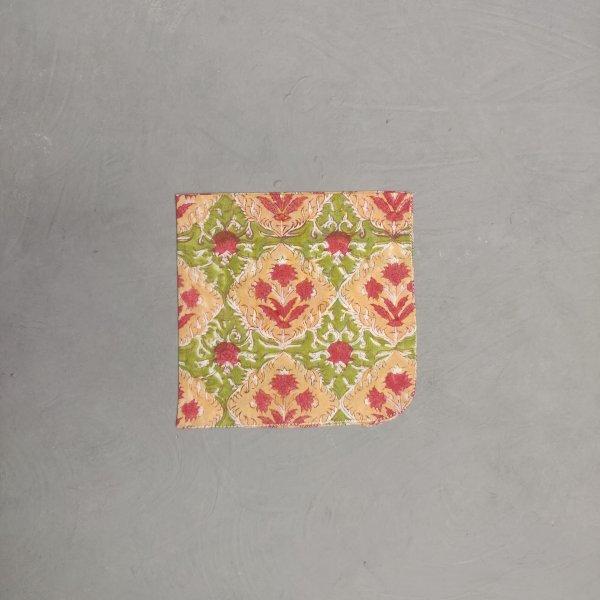 Handblock printed Handkerchief / Napkins WHH176