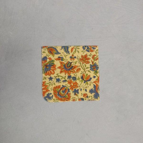 Handblock printed Handkerchief / Napkins WHH179