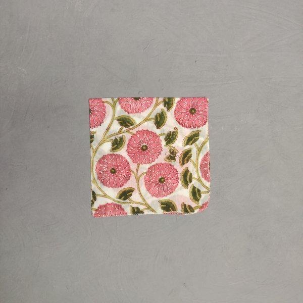 Handblock printed Handkerchief / Napkins WHH182