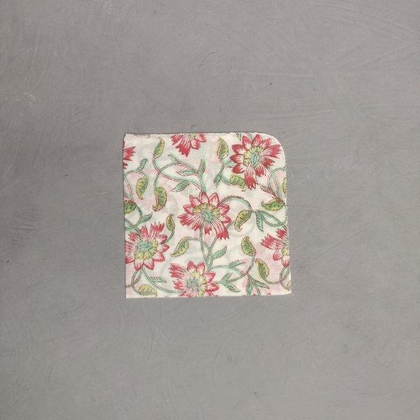 Handblock printed Handkerchief / Napkins WHH227