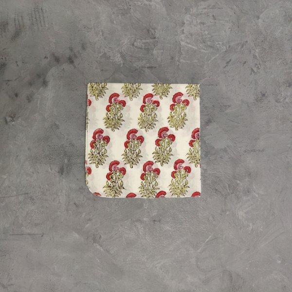 Handblock printed Handkerchief / Napkins WHH79