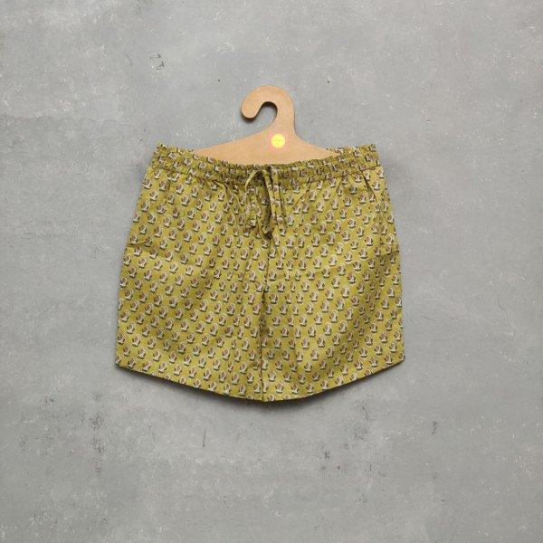 Handblock Printed Shorts/ Half Pants HP158