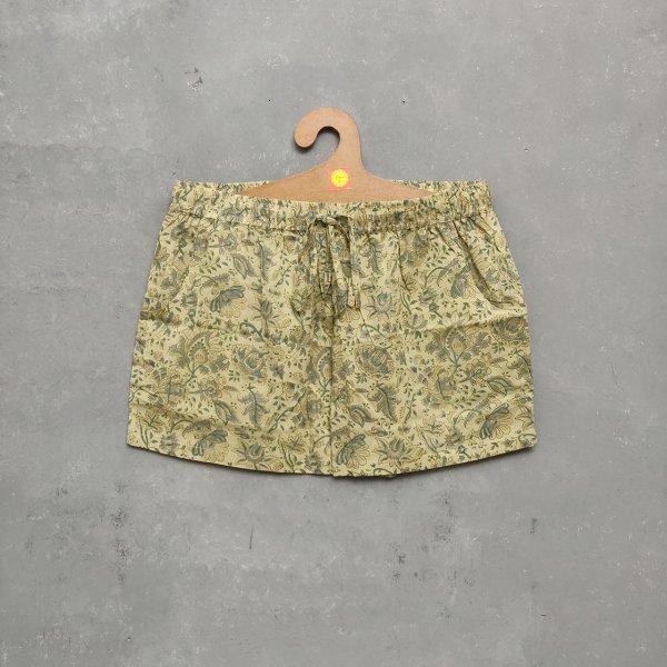 Handblock Printed Shorts/ Half Pants HP186