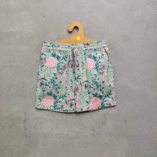 Handblock Printed Shorts/ Half Pants HP19