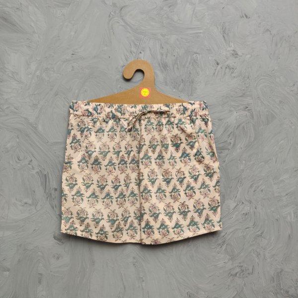 Handblock Printed Shorts/ Half Pants HP262