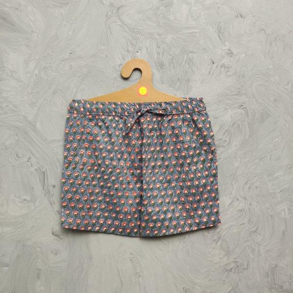 Handblock Printed Shorts/ Half Pants HP263