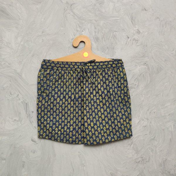 Handblock Printed Shorts/ Half Pants HP273