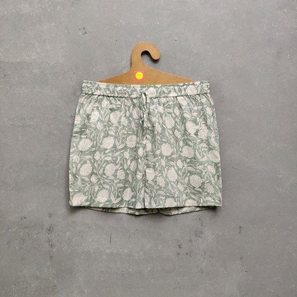 Handblock Printed Shorts/ Half Pants HP29