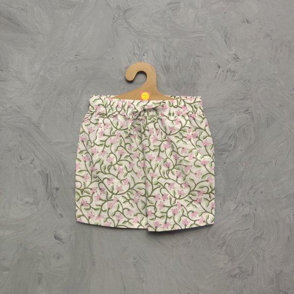 Handblock Printed Shorts/ Half Pants HP304
