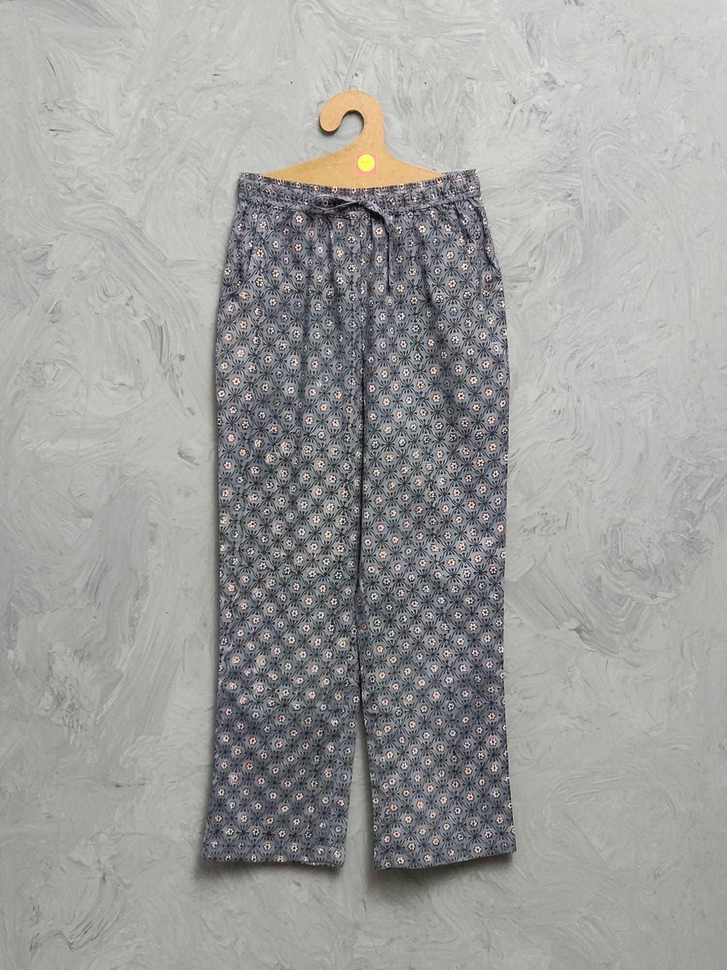 Multi Colour Handblock Printed Pyjama PYHBP28