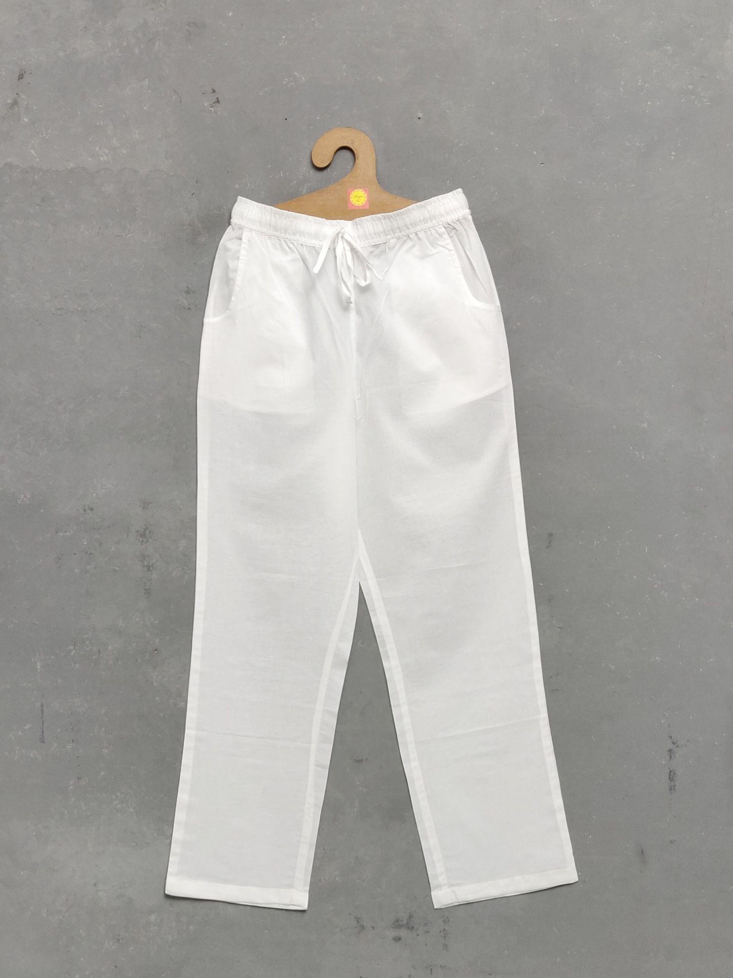 White Pyjamas / Pants
