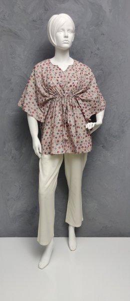 Floral Short Kaftan SK341