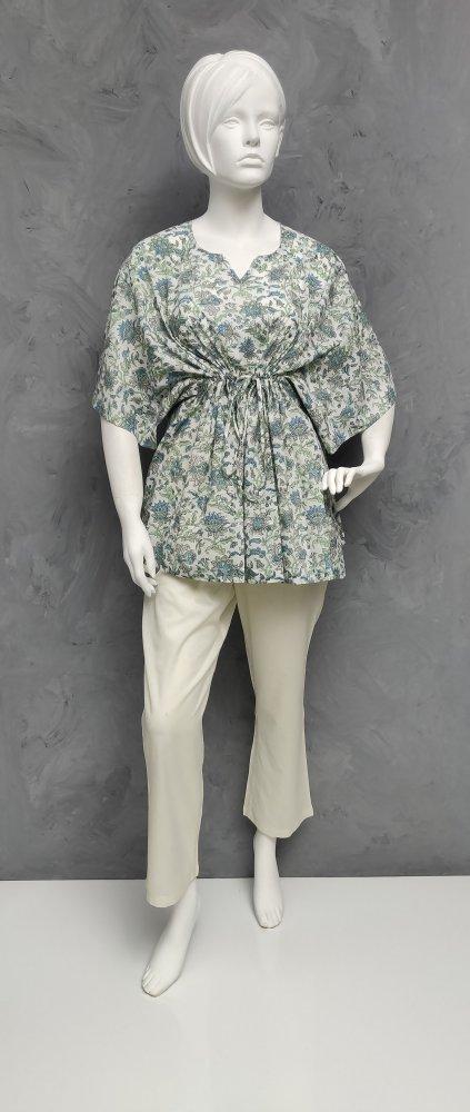 Floral Short Kaftan SK396