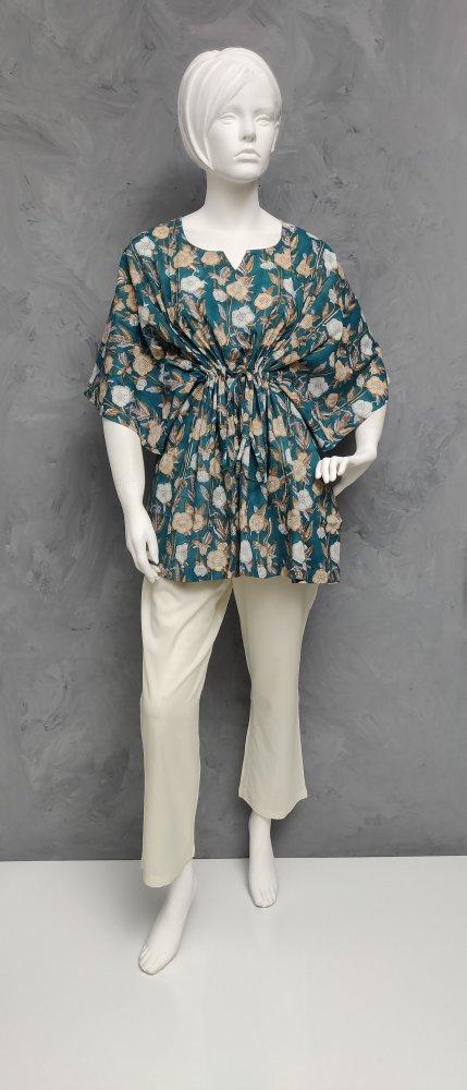 Floral Short Kaftan SK408